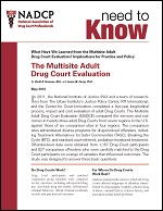 Multisite Adult Drug Court Evaluation150